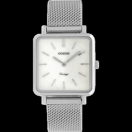 Τετράγωνο γυναικείο ρολόϊ OOZOO VINTAGE C9840