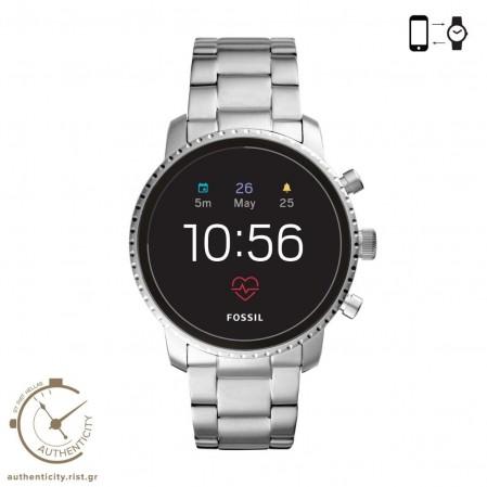 Fossil Q Explorist HR Ανδρικό Smartwatch