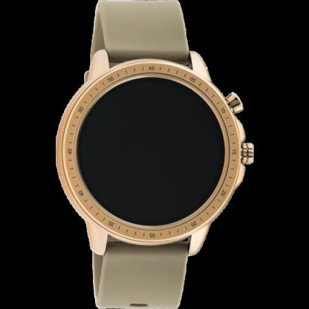 Smartwatch της εταιρίας OOZOO σε ροζ χρυσό Q00302