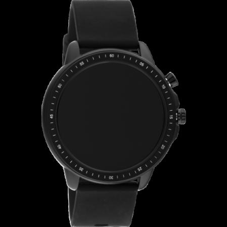 Smartwatch της εταιρίας OOZOO σε μαύρο χρώμα Q00304