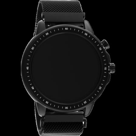 Smartwatch της εταιρίας OOZOO σε μαύρο χρώμα Q00309